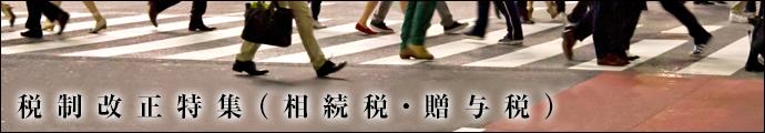 税制改正特集(相続税・贈与税)平成29年